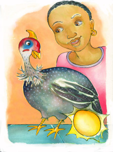 Guineafowl who laid golden eggs 1