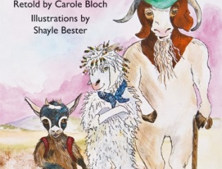 Nal'ibali featured book called The three billy goats gruff